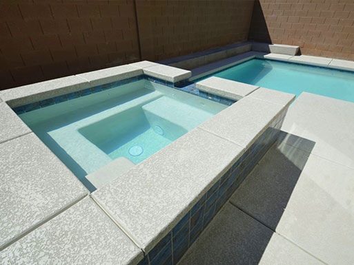 Customer's custom pool 12