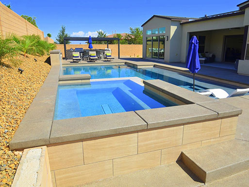 Customer's custom pool 1