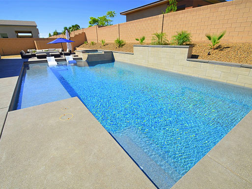 Customer's custom pool 19