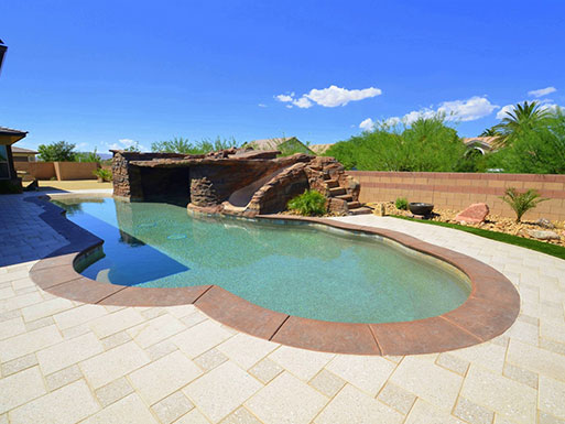 Customer's custom pool 7