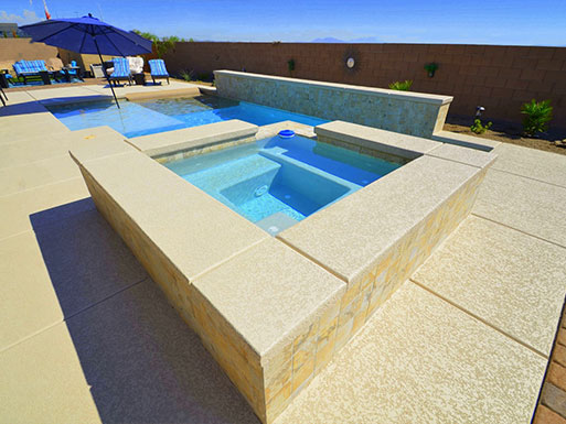 Customer's custom pool 8