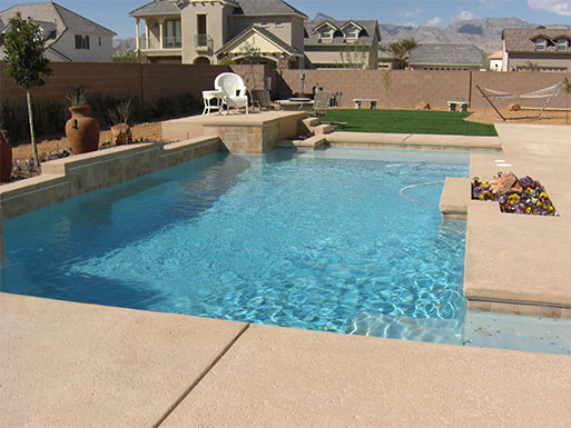 Customer's custom pool